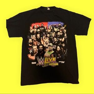 WWE Live Road To Wrestlemania Canada Tour Tee